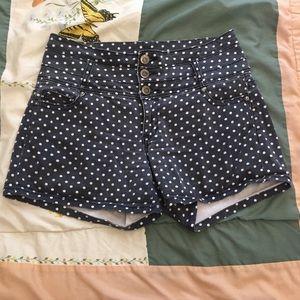 High waisted polka dot shorts, ModCloth , 11